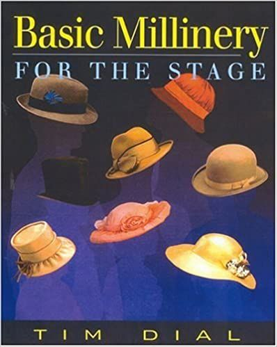 Basic Millinery for the Stage: Tim Dial